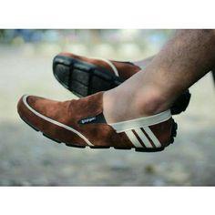 sepatu pria slip on motif A