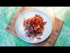 Gerookte pulled pork