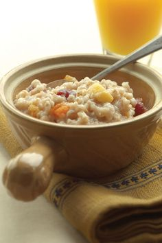 The easiest way to make steel-cut oats. This overnight dump-slow cooker oatmeal recipe is an easy way to serve a crowd a hearty breakfast before facing the elements for a day of winter sports. You can assemble it in the slow cooker in the evening and wake up to a bowl of hot, nourishing oatmeal. The slow cooker eliminates the need for constant stirring and ensures an exceptionally creamy consistency. It is important to use steel-cut oats; old-fashioned oats become too soft during slow-cookin...