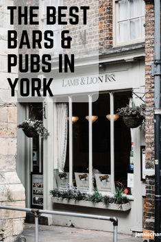 The Best Bars and Pubs in York, England. York is well known for it's pubs and bars and I've experienced my fair share of them! In my opinion, these are York's top 10 bars and pubs! South Yorkshire, Yorkshire England, York England, Best Pubs, Northern England, Cool Bars, London Travel, Days Out
