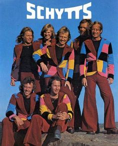 even musicians fall prey to bad fashion decisions. Take for example the Schytts whose taste in attire was really well and truly schytt