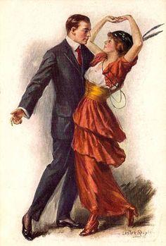 Ragtime Era Dance Fashions 1912-1915