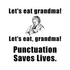 Have a person on Facebook who doesn't understand the concept of punctuation? Yeah, they drive me crazy.
