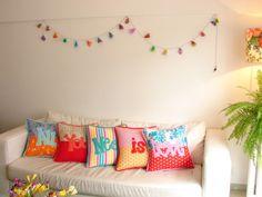 Los almohadones de Flor! :)