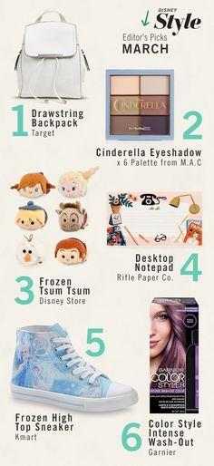 I love this because it has some adorable disney stuff and most of all because number four is a rifle paper company item !!!
