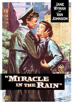 Miracle in the rain [DVD] starring Jane Wyman, Van Johnson, Peggie Castle, Fred Clark, Eileen Heckart