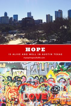 The Hope Gallery in Austin, Texas is worth a visit! Takes art to a whole new level while unifying communities. http://www.myaspiringsoulfullife.com/2016/05/hope-is-alive-and-well-in-austin/