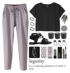 """""""Untitled #254"""" by luciamenesess ❤ liked on Polyvore featuring Monki, Nails Inc., Marc by Marc Jacobs, Tarina Tarantino, Pamela Love, ASOS, Topshop, NARS Cosmetics and Just Acces"""