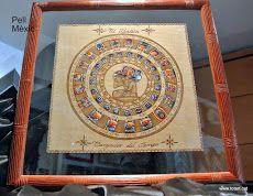 Marco para cuadro con Calendario #maya  totart.cat