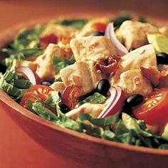 Turkey Fiesta Salad