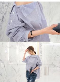 1f439792 Women Striped Blouses. Striped BlousesBatwing SleeveFragrancesShirt BlousesBell  Sleeve TopRuffle Blouse