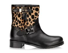 Leopard boots, Browns, $450
