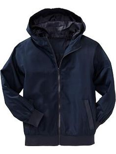 *for camp  Boys Uniform Hooded Windbreakers | Old Navy $18