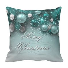 Shop Christmas Holiday Ornaments Teal Throw Pillow created by steelmoment. Merry Christmas, Christmas Pillow, Christmas Holidays, Christmas Ideas, Christmas Gifts, Christmas Goodies, Christmas Design, Teal Throws, Purple Throw Pillows