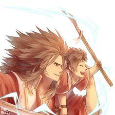 Fire Emblem: If/Fates - Ryoma and Shiro