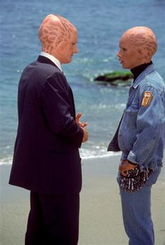 """Alien Nation Starring Eric Pierpoint (""""George"""") and Sean Six (""""Buck""""). An under appreciated gem of a show. More relevant today than ever. Sci Fi Series, Tv Series, Sci Fi Fantasy, Snuggles, Science Fiction, Video Game, Nostalgia, Tv Shows, Films"""