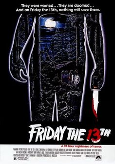 Friday the 13th (1980) movie poster (US)