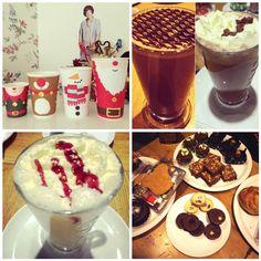 Costa Coffee Christmas Costa Coffee, London Christmas, I Love Coffee, Baby Winter, Coffee Shops, Festive, Ice Cream, Desserts, Travel