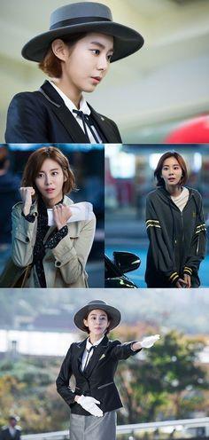 Upcoming drama 'Illumination' releases still cuts of Jin Goo and UEE   allkpop.com