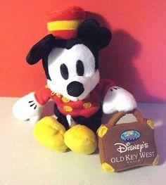 "Disney World Bean Bag Plush Mickey Mouse Bellhop Old Key West 8"" - http://hobbies-toys.goshoppins.com/beanbag-plush/disney-world-bean-bag-plush-mickey-mouse-bellhop-old-key-west-8/"