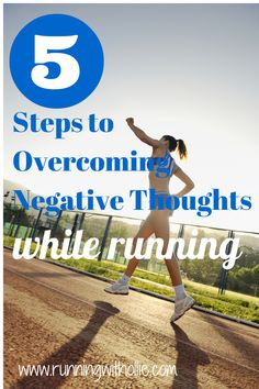 RUNNING WITH OLLIE: 5 Steps to Overcoming Negative Thoughts While Running. Click through to read.