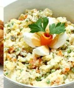 Vinná klobása s křenovou bramborovou kaší a pěnou z pečeného česneku   Recepty na Prima Fresh Buffy, Fried Rice, Grains, Fresh, Ethnic Recipes, Food, Asia, Essen, Meals