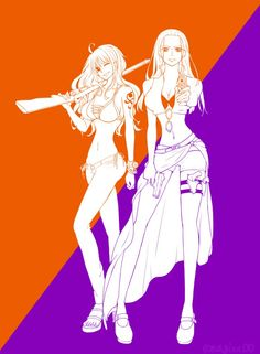 Nico Robin Nami One Piece