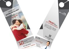 Real estate door hanger rip cards template 10 hanger business 2 in 1 door hangers with business cards real estate door hanger rip colourmoves