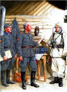 Division Azul, General Esteban Infantes, comandante en jefe de la Division Azul