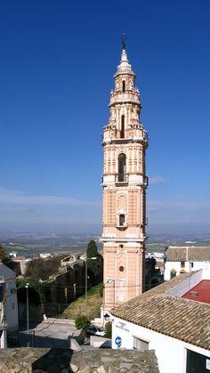 Torre de la desaparecida Iglesia Ntra. Sra. de la Victoria. Estepa