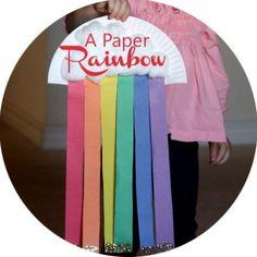 Easy St. Patrick's Day Rainbow