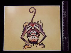 ALOHA MONKEY vintage Sailor Jerry Traditional style tattoo poster ...