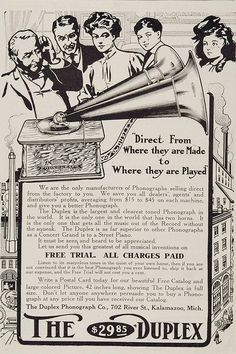 Duplex Phonograph adv