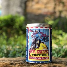This #HumpDayMotivation is brought to you by the one and only @EKMuseum! This Daredevil blend will have you feeling like youre bullet proof or Superman. You may never run out of nerve. Never. (See what we did there?! ) Check out our story for staff reactions to the brew and a peek at how crazy this coffee can get... ______________________________  #Topeka #topekaks #TopCity #EvelKnievel #Daredevil #coffeetime #Coffee #coffeelovers #foodstagram