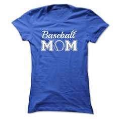 T shirt with Quote - Baseball Mom T-Shirt