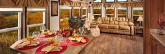 Canadian Series Moch Exterior - Dining Room and Living Room