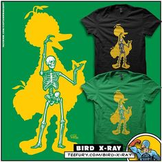 Bird X-Ray • @Teefury Staff Pick