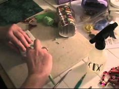 Polymer Clay Jewelry Making - How to Make Framed Pendants - Part 1 - YouTube