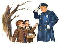 norman rockwell police painting - Google Search