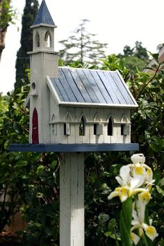 Church Birdhouse   Flickr - Photo Sharing!