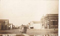 RP: Main Street , KINDRED , North Dakota , PU-1912