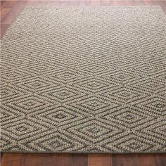 Diamond Sisal Rug - Eclectic - Rugs - by Shades of Light