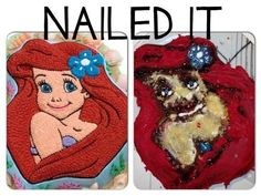 "nails -                                                      Strawberry Snowmen: | 28 People Who Definitely Totally ""Nailed It"""