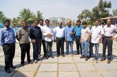 Executive Management with senior members @Cigniti Technologies day out at Leonia resorts