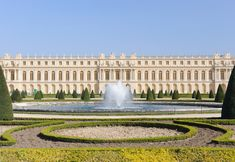 The Palace at Versailles housed kings and queens of France until the French Revolution.