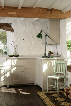 A Beautiful Corner Of Devol S Shaker Showroom At Cotes Mill Kitchens Style