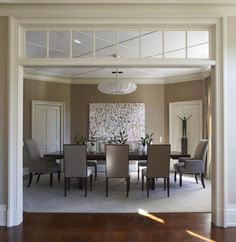 Design Group Foley Cox Featured Manila Hemp 3440 Elephant In A Clients Formal Dining Room