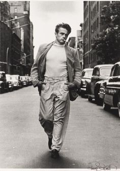 James Dean.  Fashion icon.