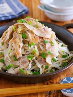 """I want to eat it with a kitchen knife & not complete ♪ I want to have it and eat it ♪ """"Pow-rose and bean sprouts"""" LIMIA (リ ミ ア ア) - Recipes Asian Recipes, New Recipes, Healthy Recipes, Ethnic Recipes, Recipies, Easy Cooking, Cooking Recipes, Kitchen Recipes, World Recipes"""