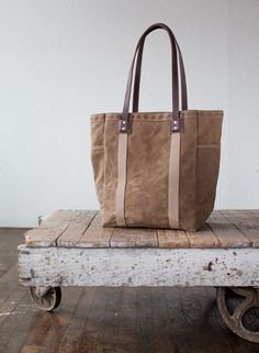 ArtifactBags  No. 105 Tote in Waxed Canvas